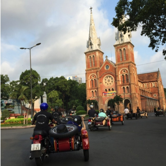 Good morning Saigon by sidecar