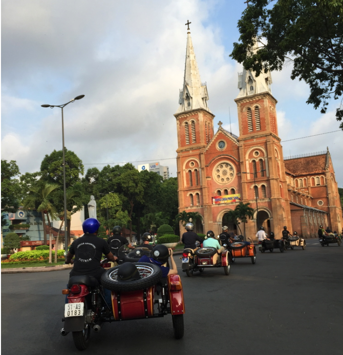 EARLY MORNING SIDECAR TOUR OF SAIGON